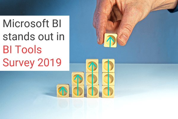 Microsoft BI stands out in BI Tools Survey 2019