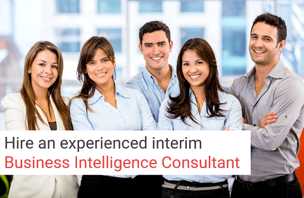 Business Intelligence consultant interim and hiring