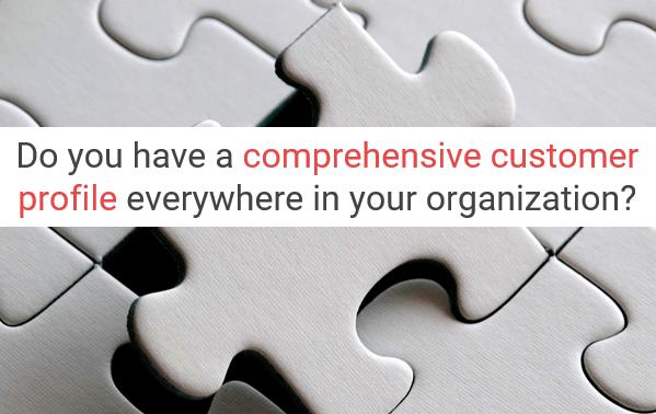 Comprehensive customer profile