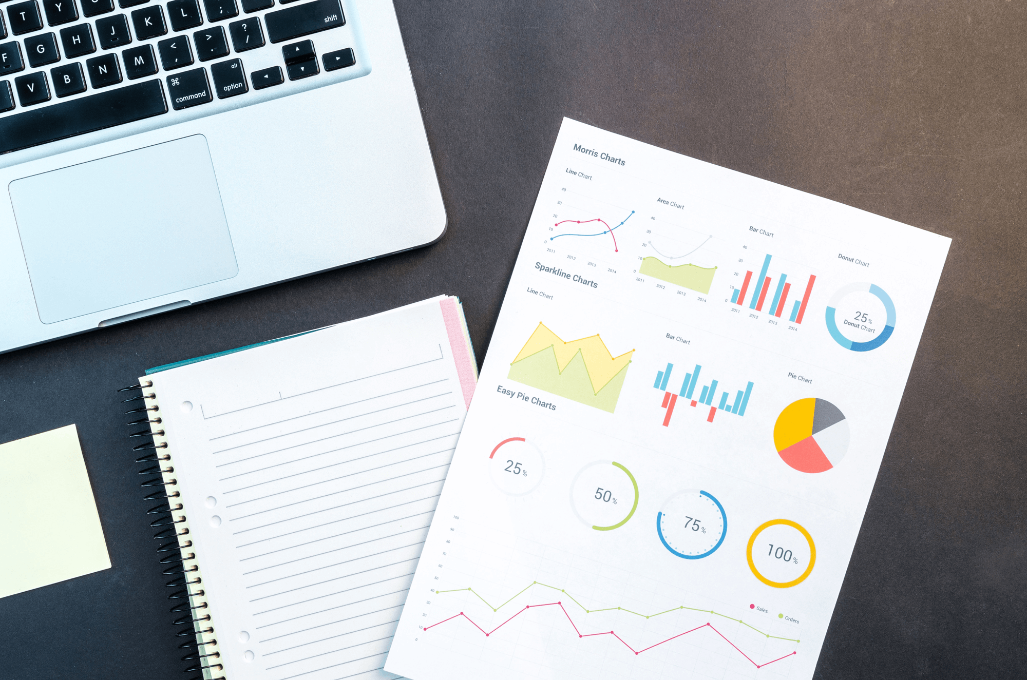 Data visualization makes data tangible & legible