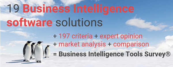 Overview and a comparison of Business Intelligence Vendors