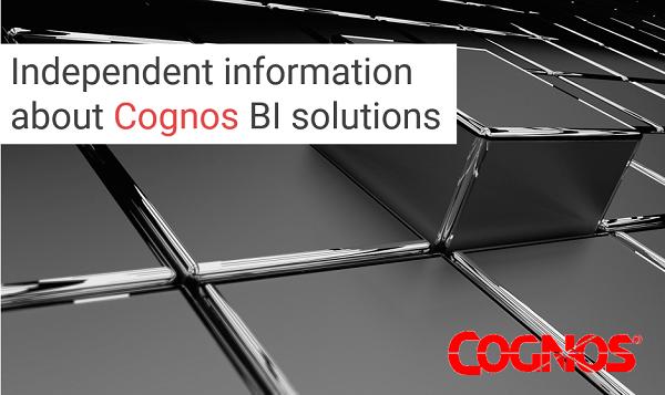 Cognos BI software
