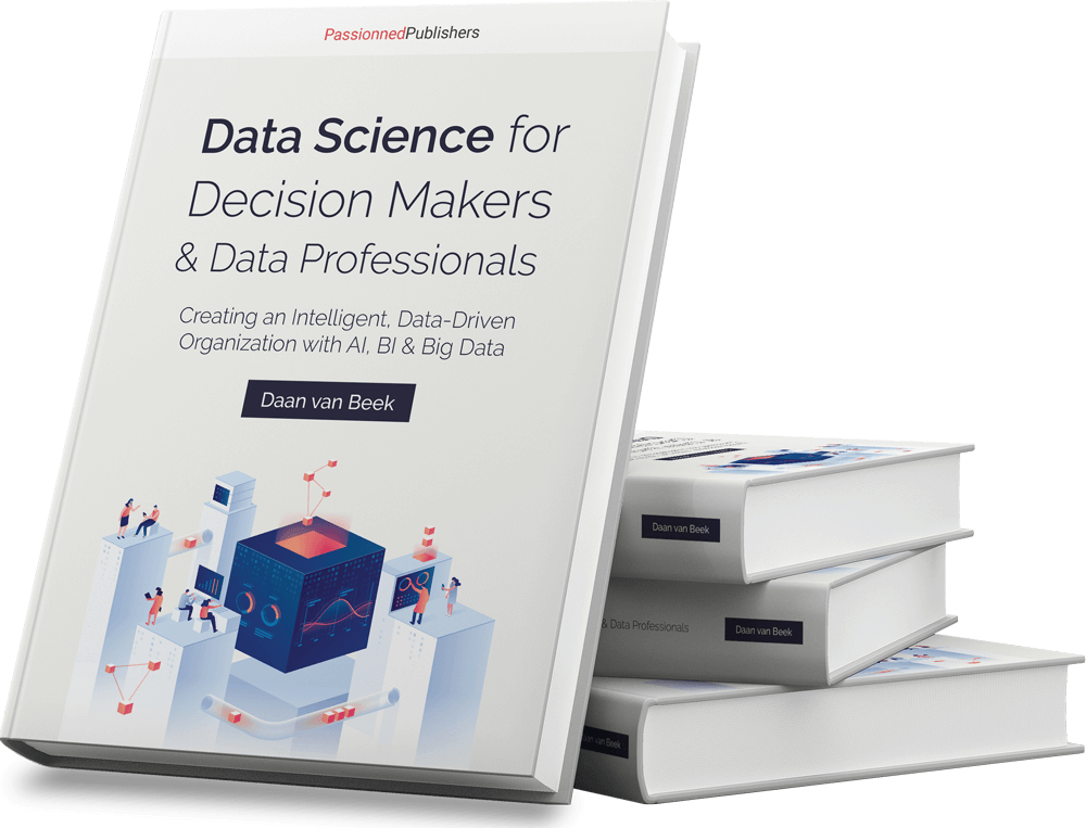 Cover Data Science book Data Science for Decision-makers and Data Professionals