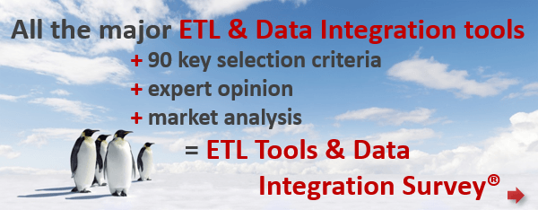 Download the ETL Tools & Data Integration Survey