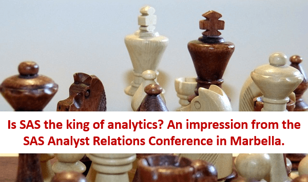 Is SAS the king of analytics?