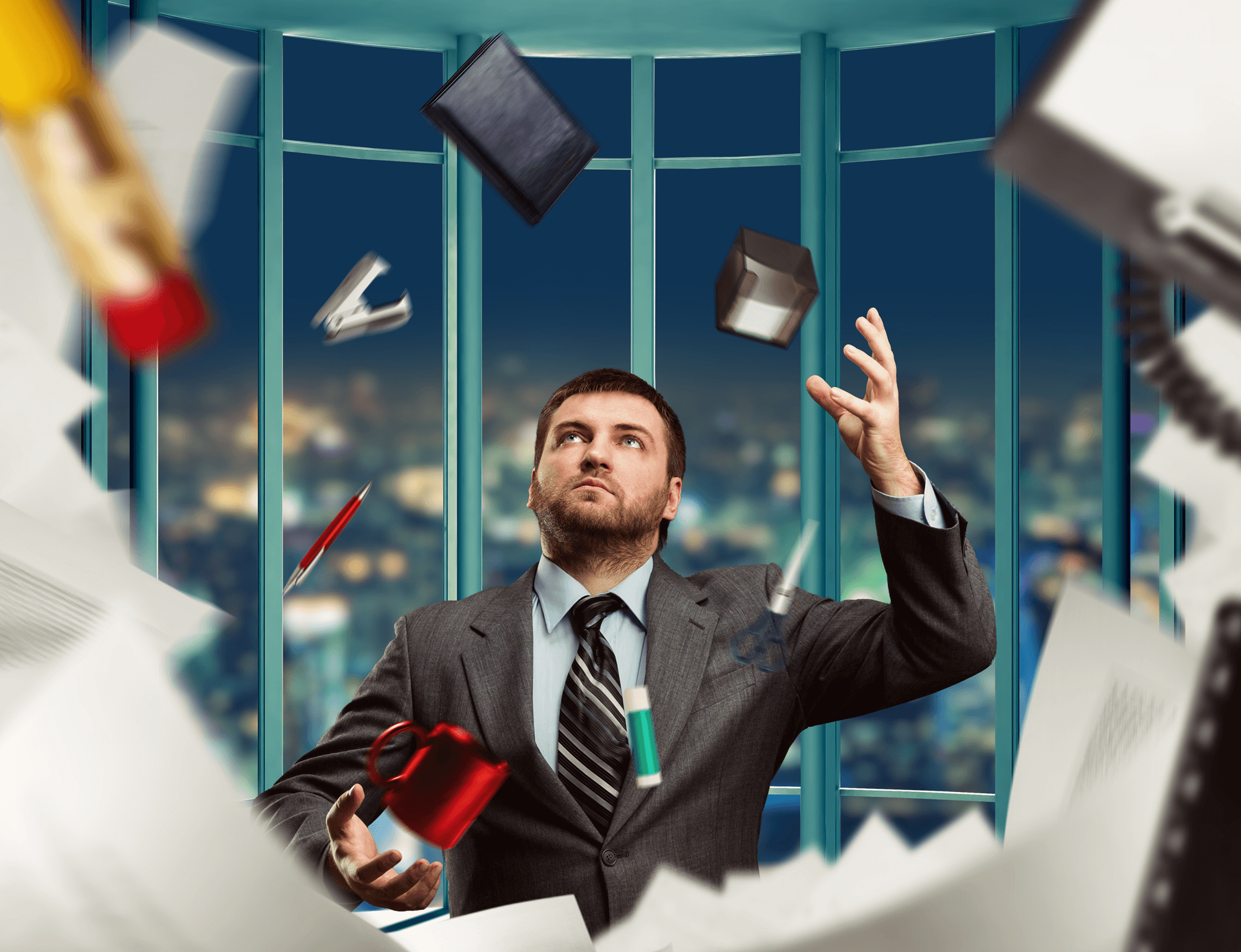 Customer-focused IT manager   The modern-day corporate juggler
