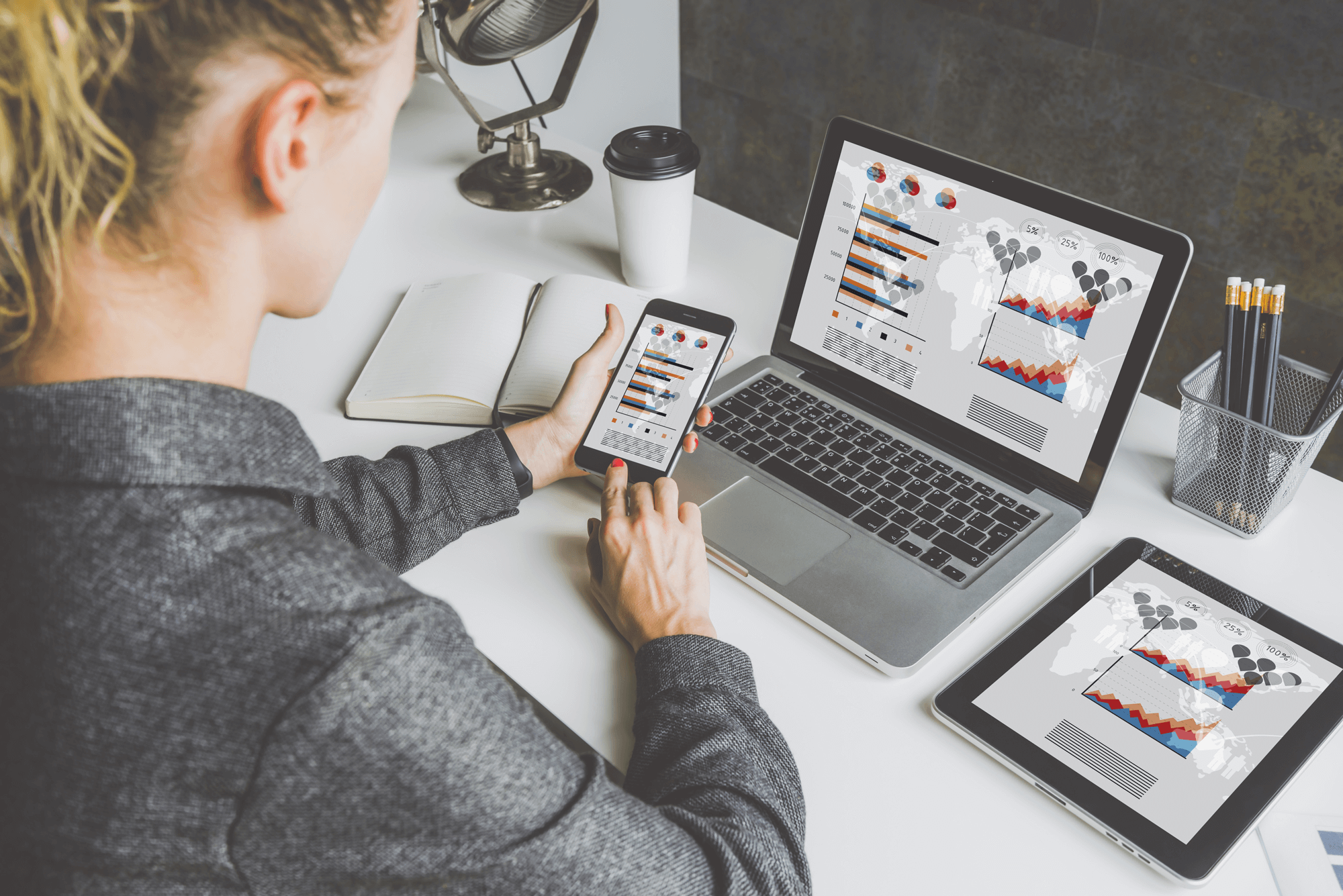 The Tableau specialist focuses on data storytelling and self-service analytics